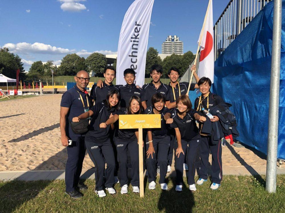 日本勢、世界の壁に阻まれ敗退。「FISU世界大学ビーチバレーボール選手権」