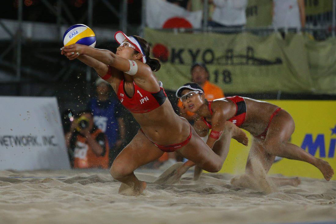 日本から女子5チームがエントリー。「FIVBワールドツアー 2star プノンペン大会」。