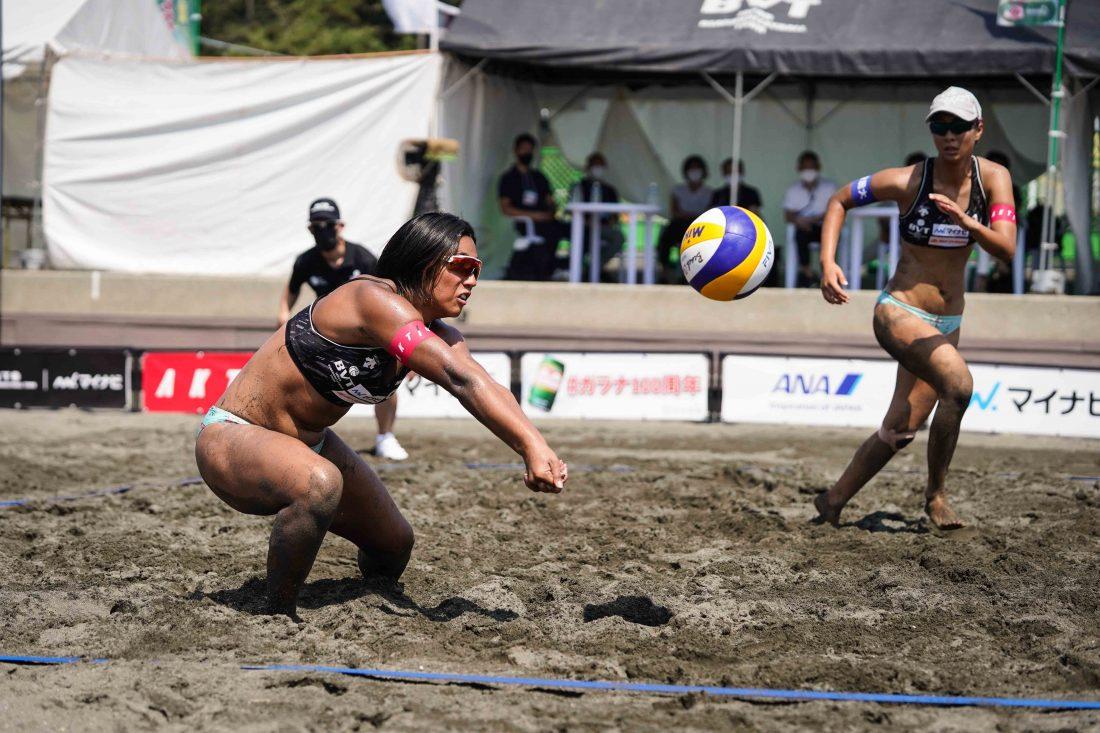 マイナビジャパンビーチバレーボールツアー2021 第2戦 平塚大会、ガラナ・アンタルチカ杯が開催
