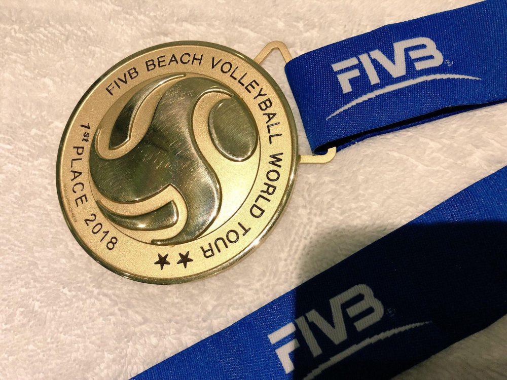 溝江/橋本組、ワールドツアー晋江大会で金メダルを獲得