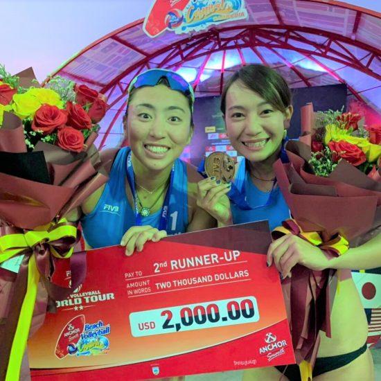 鈴木/坂口組、初戦で銅メダル獲得。<br>ワールドツアープノンペン大会。