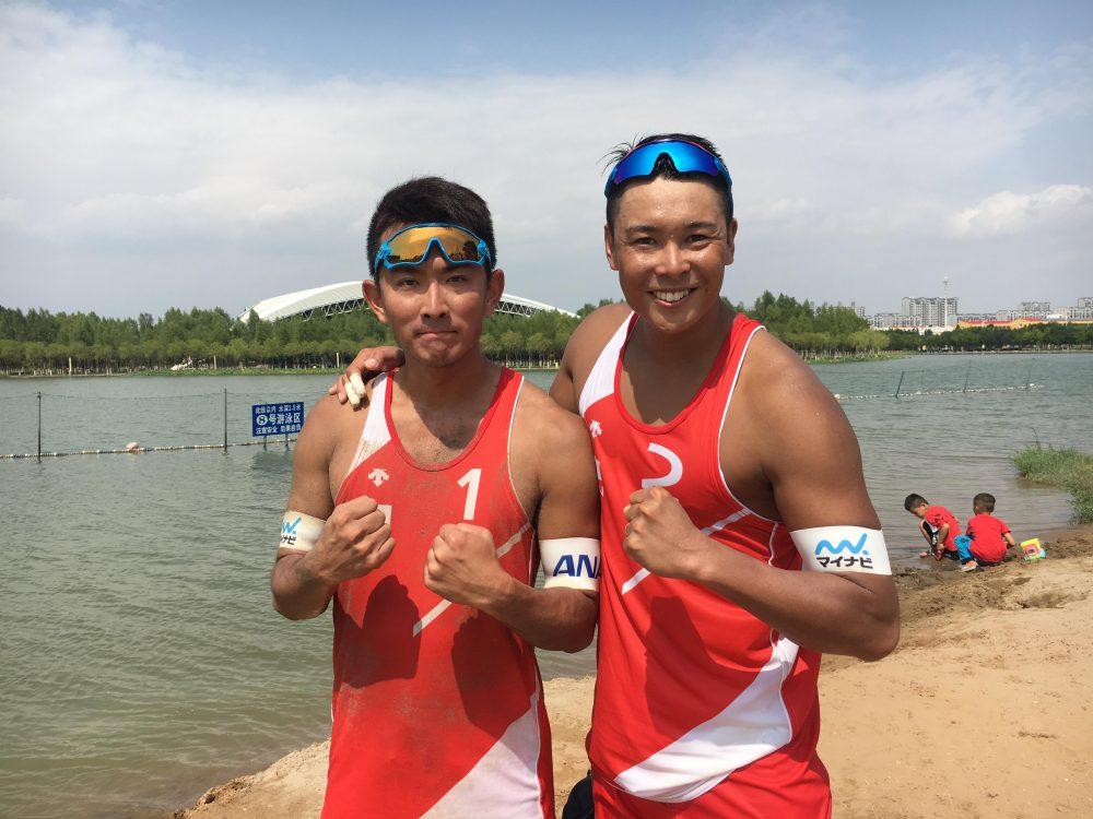 日本、男女ともに決勝進出。「AVCオリンピックアジア大陸予選 第1フェーズ」。