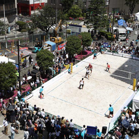 2020東京へのプロモーション。<br>「JBV品川オープン2019」、<br>高橋/長谷川組、二見/長谷川組が優勝。