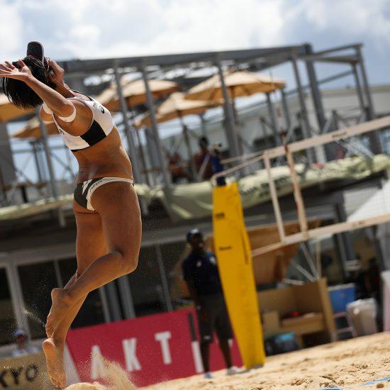 男女ともにチャイニーズ・タイペイと対戦。<br>「AVCオリンピックアジア大陸予選 第1フェーズ」。