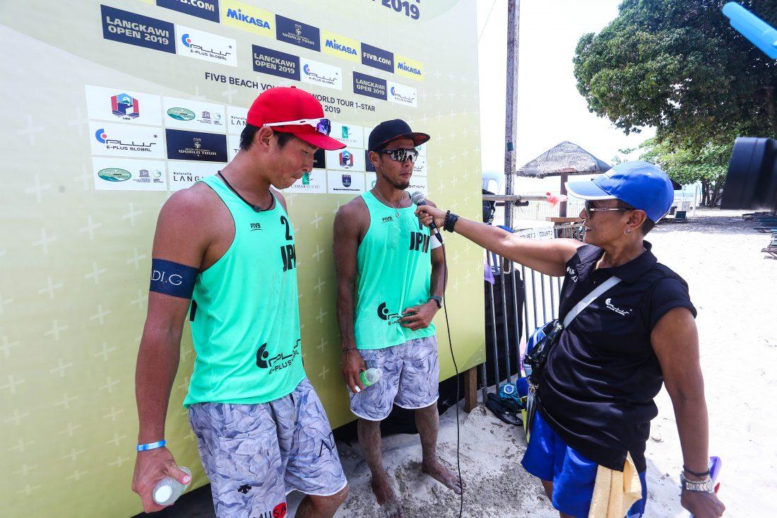 村上/土屋組、銅メダル獲得。「FIVBワールドツアー 1star ランカウイ大会」