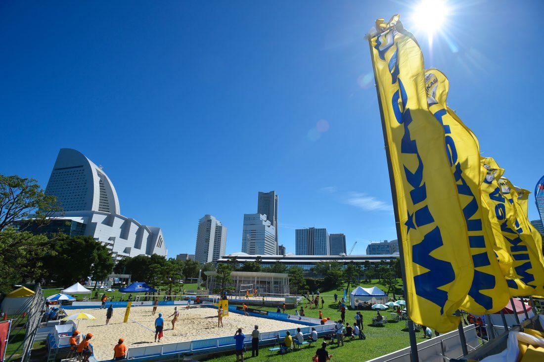 「FIVBワールドツアー東京大会」、「3スター」へ変更。 段階を追って充実化を図る