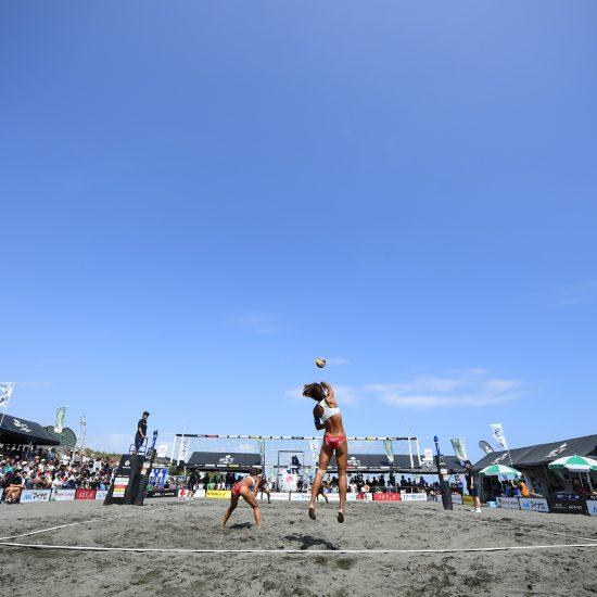 史上初、北海道札幌市で開催。「ジャパンビーチバレーボールツアー2020」。