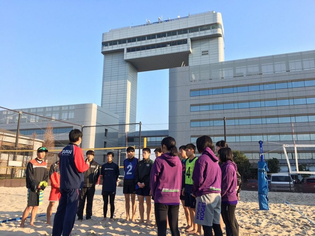 「U17・19・21ビーチバレーボールトライアウト」開催。参加者募集。