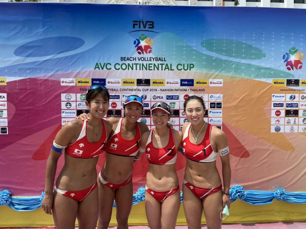 女子日本代表チームが準決勝進出 AVCビーチバレーボール コンチネンタルカップ アジア大陸予選 ファイナル(第3フェーズ)バヌアツ戦結果