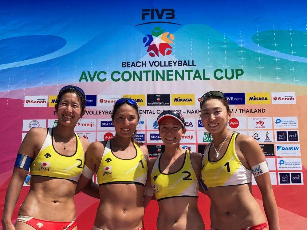 女子日本代表チームがオリンピック出場権に王手 AVCビーチバレーボール コンチネンタルカップ アジア大陸予選 ファイナル(第3フェーズ)タイ戦結果