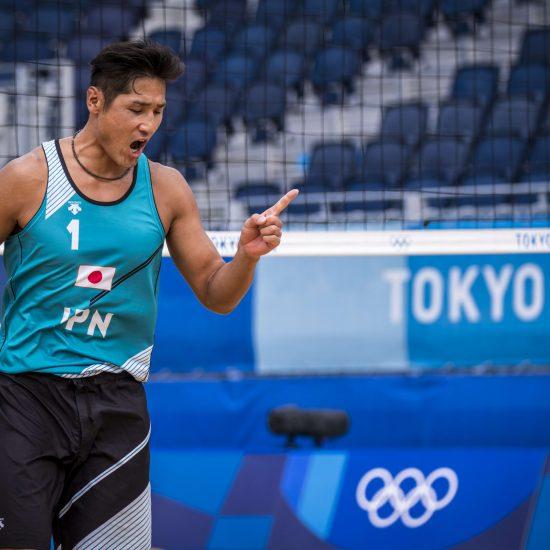 東京2020オリンピック 男子 予選ラウンド第2戦 イタリア戦結果