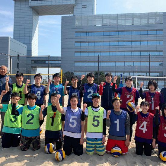 38名が日本代表入りを目指す。「U17・U19・U21ビーチバレーボールトライアウト」開催。